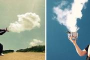 Φωτογράφος παίζει με τα σύννεφα (1)