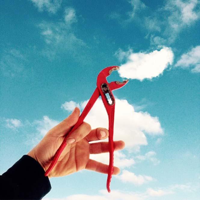 Φωτογράφος παίζει με τα σύννεφα (4)