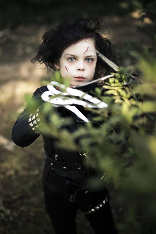 Φωτογράφος μεταμορφώνει την 9χρονη κόρη της σε διάσημους χαρακτήρες (2)