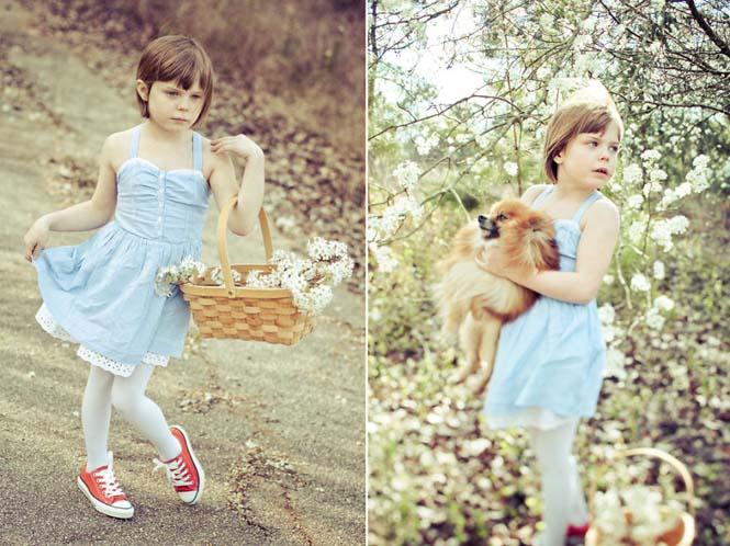 Φωτογράφος μεταμορφώνει την 9χρονη κόρη της σε διάσημους χαρακτήρες (12)