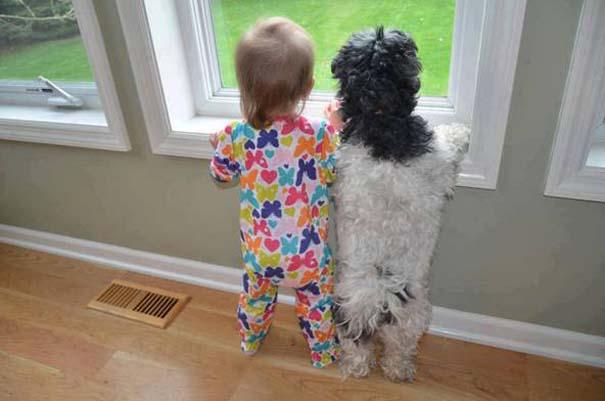 Μωρά με σκύλους: Ένας ακαταμάχητος συνδυασμός (1)