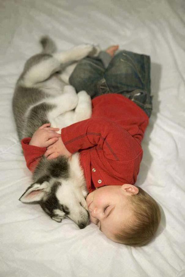 Μωρά με σκύλους: Ένας ακαταμάχητος συνδυασμός (5)