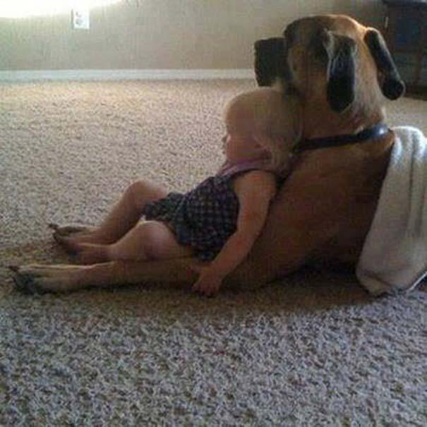 Μωρά με σκύλους: Ένας ακαταμάχητος συνδυασμός (13)