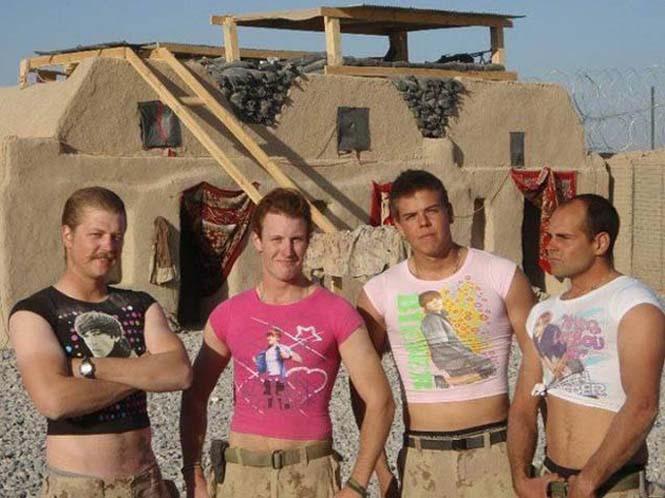 Όταν οι στρατιώτες διασκεδάζουν... (7)