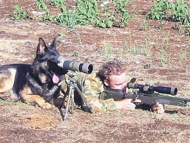 Όταν οι στρατιώτες διασκεδάζουν... (12)