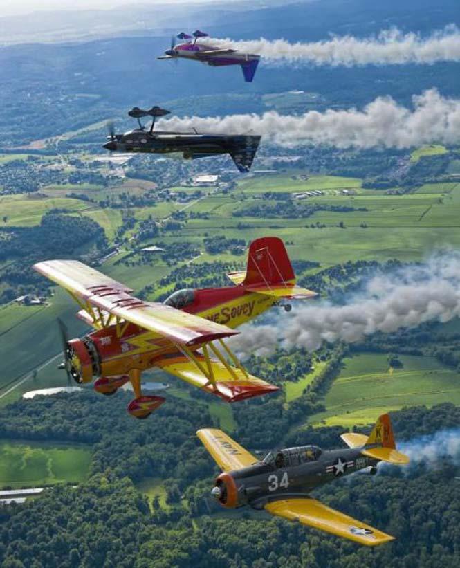 Ο πιλότος που ειδικεύεται στο Photobombing (8)