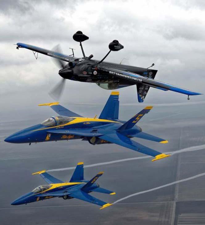 Ο πιλότος που ειδικεύεται στο Photobombing (3)