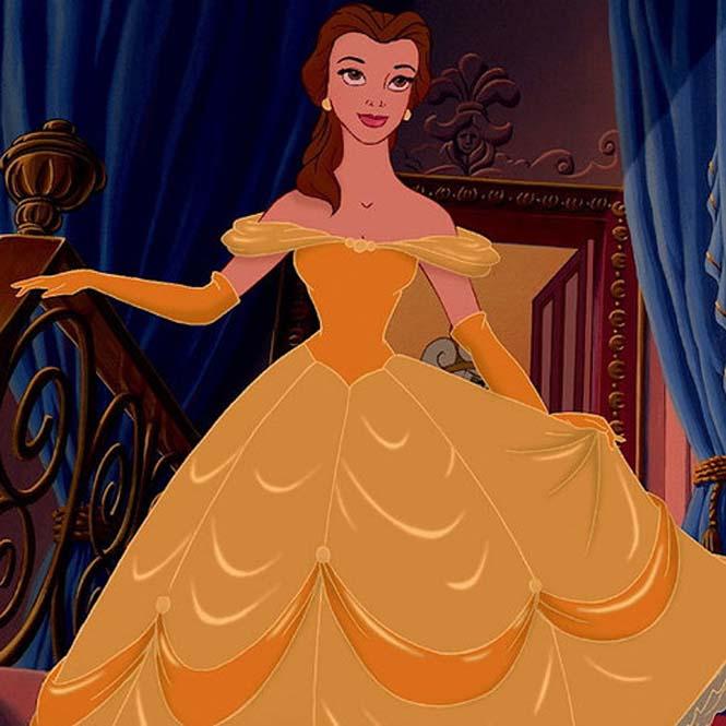 Πως θα ήταν οι πριγκίπισσες της Disney αν είχαν πιο ρεαλιστικό σωματότυπο (3)