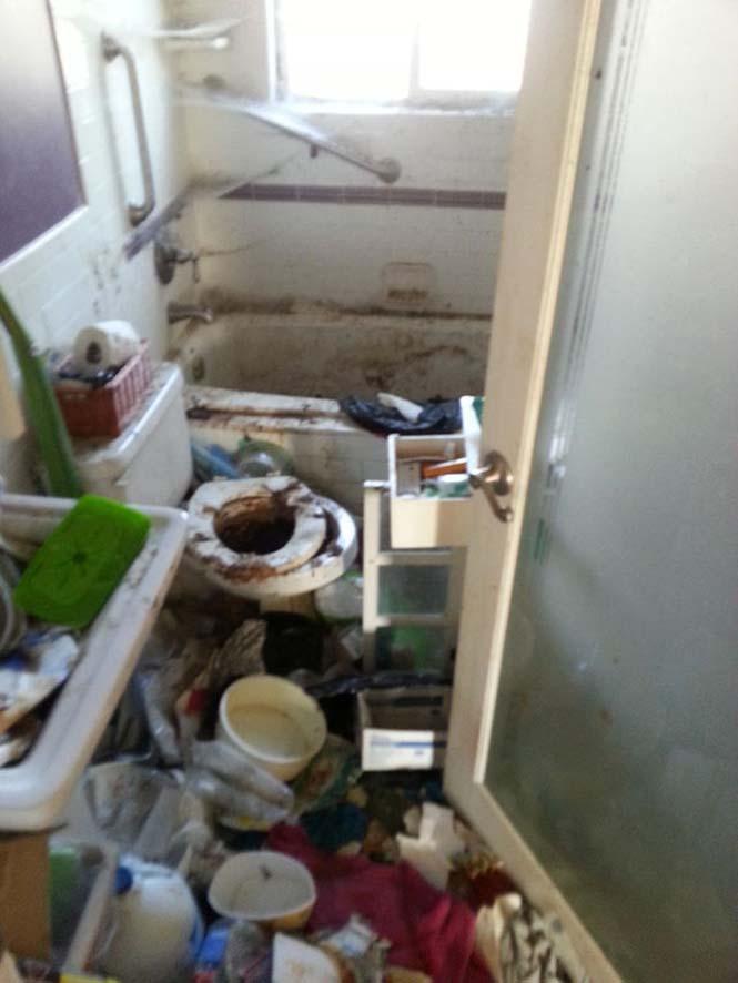 Πριν και μετά τον καθαρισμό μιας τουαλέτας (1)