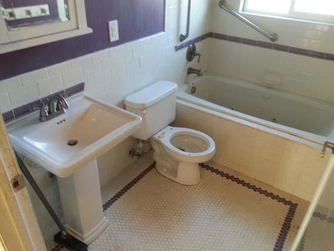 Πριν και μετά τον καθαρισμό μιας τουαλέτας (4)