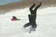 Ρεπόρτερ στο χιόνι