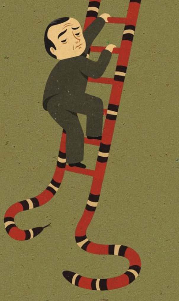Σατυρική τέχνη από τον John Holcrof (15)