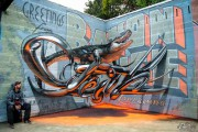 Πορτογάλος καλλιτέχνης δημιουργεί εκπληκτικά 3D graffiti που μοιάζουν να αιωρούνται στον αέρα (2)