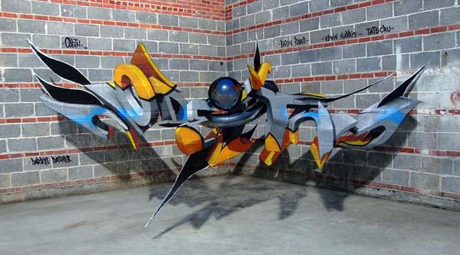 Πορτογάλος καλλιτέχνης δημιουργεί εκπληκτικά 3D graffiti που μοιάζουν να αιωρούνται στον αέρα (11)