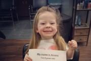 Το 3χρονο κοριτσάκι με την χρυσή καρδιά