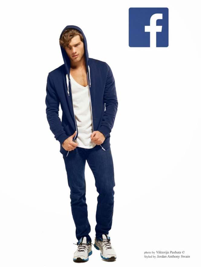 Άνδρες ντυμένοι ως Social Media (3)