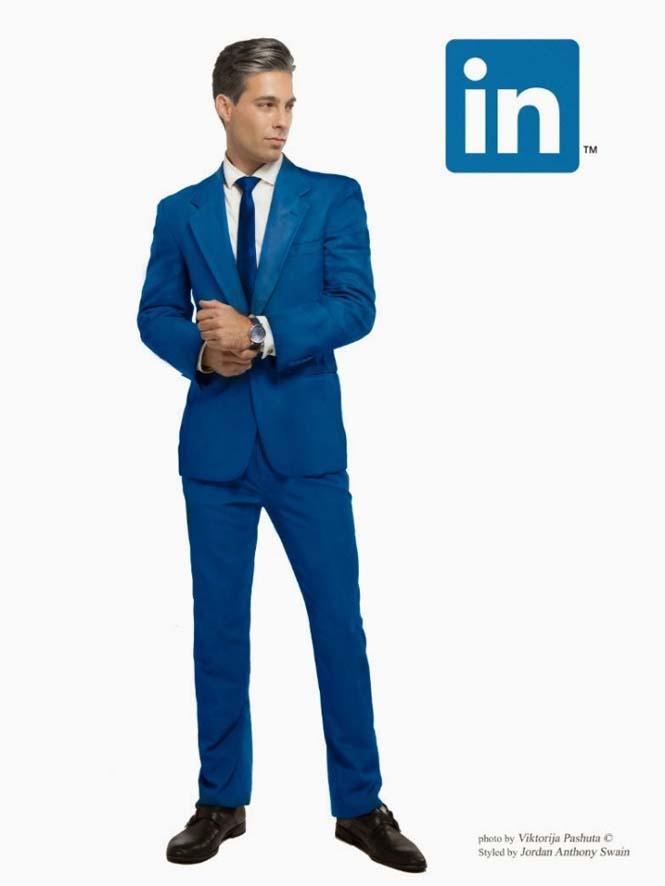Άνδρες ντυμένοι ως Social Media (6)