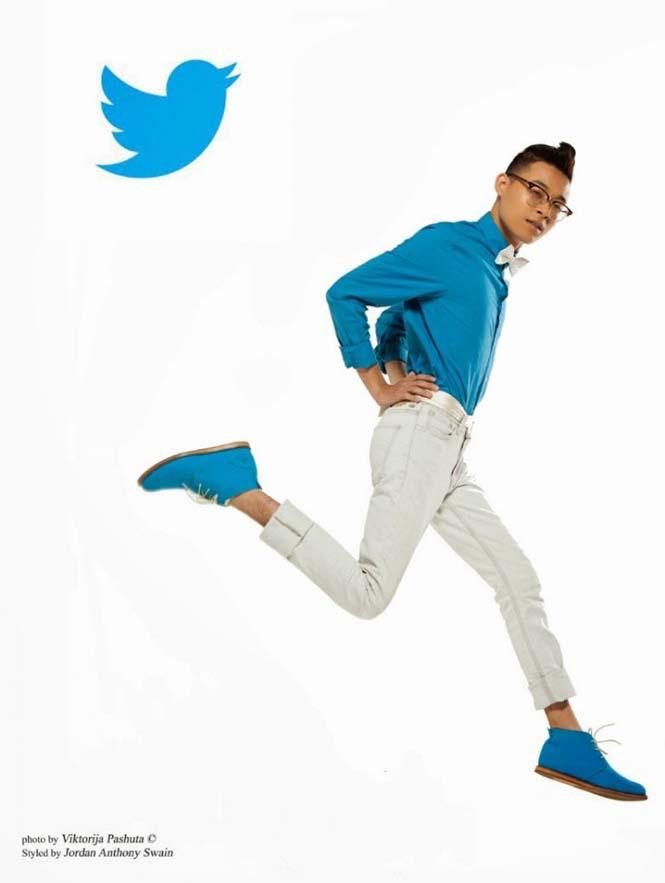 Άνδρες ντυμένοι ως Social Media (9)