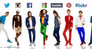 Άνδρες ντυμένοι ως… Social Media