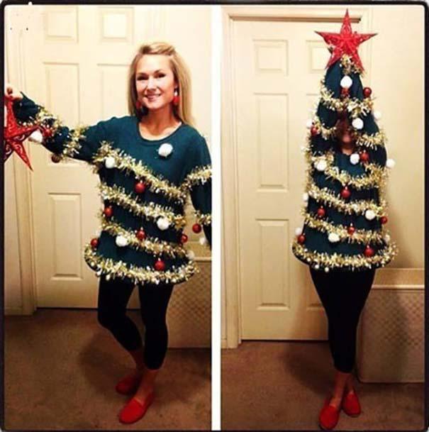 Άνθρωποι που το παράκαναν με το χριστουγεννιάτικο κλίμα (7)