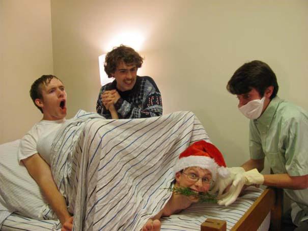 Άνθρωποι που το παράκαναν με το χριστουγεννιάτικο κλίμα (27)