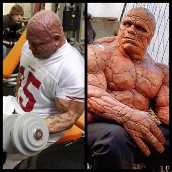 Ο άνθρωπος που θυμίζει τον super ήρωα από τους Fantastic Four (22)