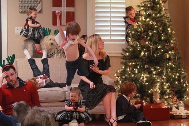 Απίθανες οικογενειακές φωτογραφίες Χριστουγέννων (2)