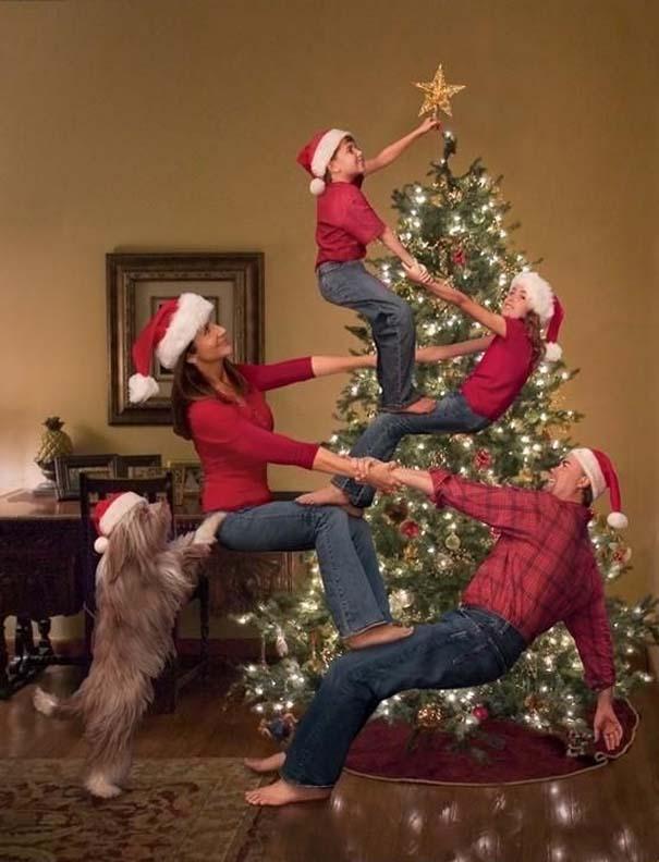 Απίθανες οικογενειακές φωτογραφίες Χριστουγέννων (3)
