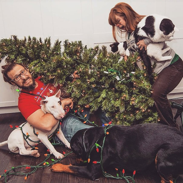 Απίθανες οικογενειακές φωτογραφίες Χριστουγέννων (11)