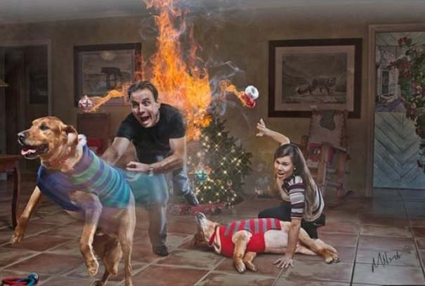 Απίθανες οικογενειακές φωτογραφίες Χριστουγέννων (12)
