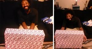 Η απίθανη αντίδραση ενός άνδρα στο δώρο που του έκανε η φίλη του (Video)