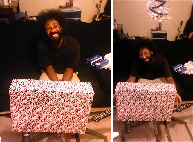 Η απίθανη αντίδραση ενός άνδρα στο δώρο που του έκανε η φίλη του