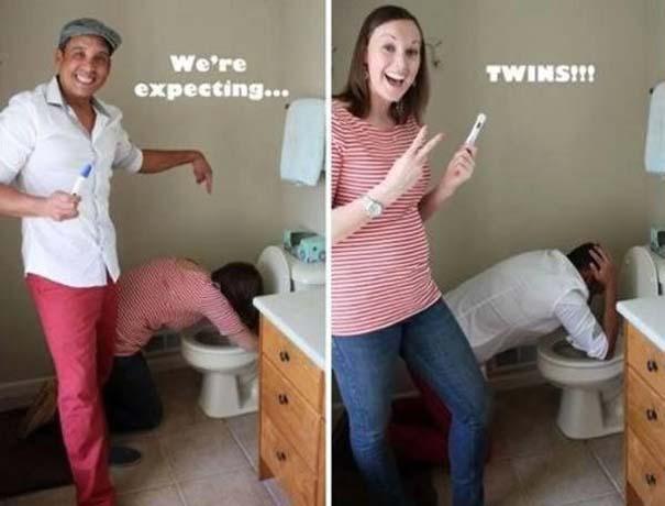 Απίθανοι τρόποι ανακοίνωσης μιας εγκυμοσύνης (4)