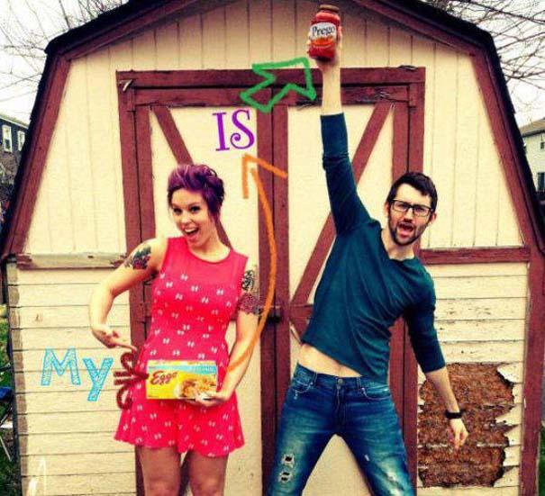 Απίθανοι τρόποι ανακοίνωσης μιας εγκυμοσύνης (13)
