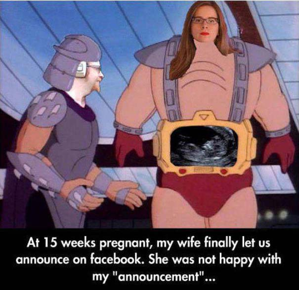 Απίθανοι τρόποι ανακοίνωσης μιας εγκυμοσύνης (14)