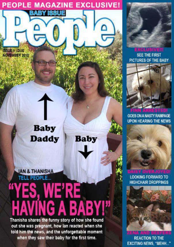 Απίθανοι τρόποι ανακοίνωσης μιας εγκυμοσύνης (24)