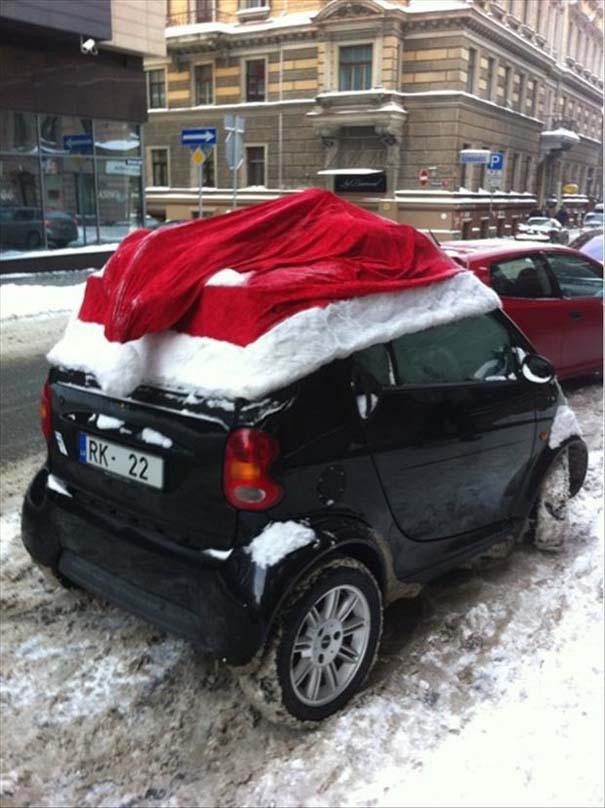 Ασυνήθιστοι χριστουγεννιάτικοι στολισμοί (3)
