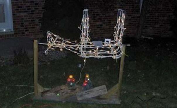 Ασυνήθιστοι χριστουγεννιάτικοι στολισμοί (10)