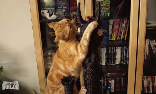 Δείτε τι έφτιαξε ένας λάτρης του Lord of The Rings για την γάτα του (7)