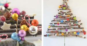 60+1 δημιουργικά DIY χριστουγεννιάτικα δένδρα