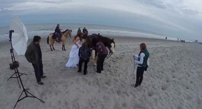 Η φωτογράφηση γάμου με άλογο δεν είναι πάντα καλή ιδέα (1)