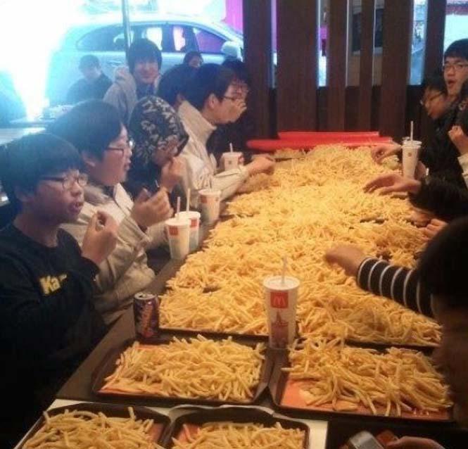 Γεύματα σε μερίδες εξωφρενικού μεγέθους (2)