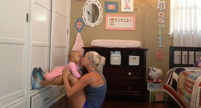 Γυμναστική με το μωρό