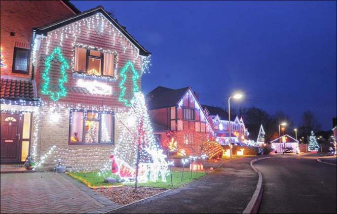 Ίσως η πιο χριστουγεννιάτικη γειτονιά στον κόσμο (1)