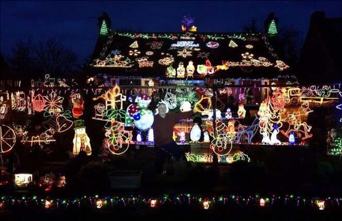 Ίσως η πιο χριστουγεννιάτικη γειτονιά στον κόσμο (2)