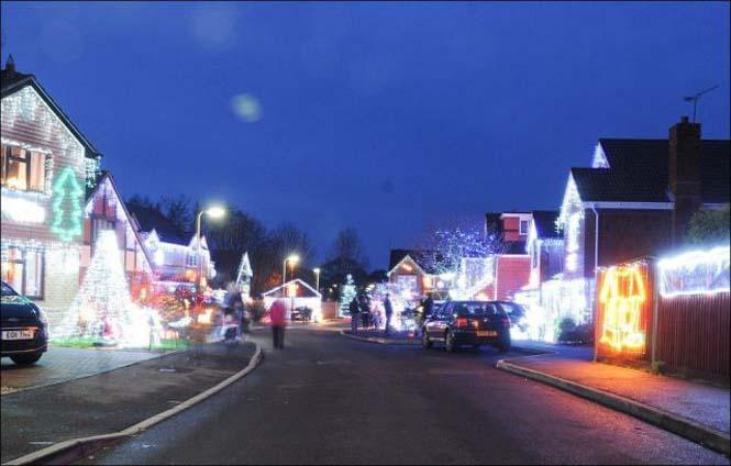 Ίσως η πιο χριστουγεννιάτικη γειτονιά στον κόσμο (15)