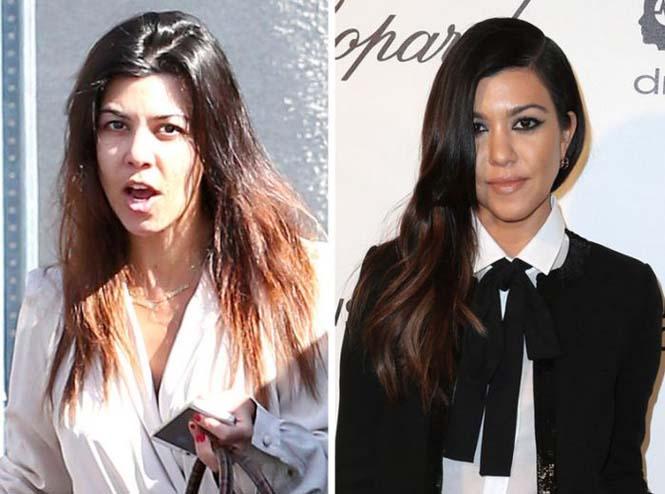 Οι Kardashians χωρίς μακιγιάζ (3)