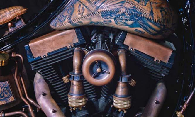 Μοτοσυκλέτα με τατουάζ (6)