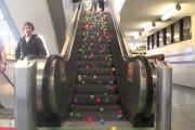 Μπαλάκια σε κυλιόμενη σκάλα