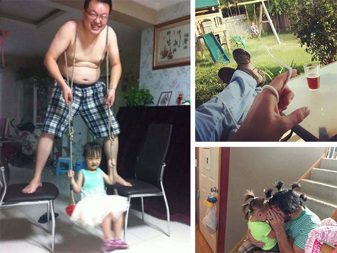 Μπαμπάδες που... έχουν τον τρόπο τους! (1)
